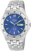 Citizen Watch Bracelet Silver Tone Stainless Steel Part # 59-K00122