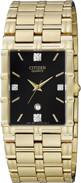 Citizen Watch Bracelet Gold Tone Stainless Steel Part # 59-S02824