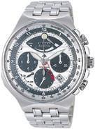 Citizen Watch Bracelet  Silver Tone Titanium Combo Part # 59-T00311