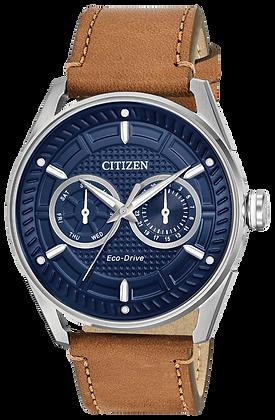 Citizen Watch Strap Brown Leather Part # 59-S53783