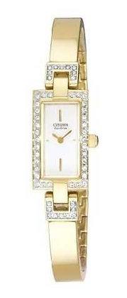 Citizen Watch Bracelet Gold Tone Stainless Steel Part # 59-S01896