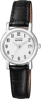 Citizen Watch Band Black Leather 12MM Part # 59-S51435