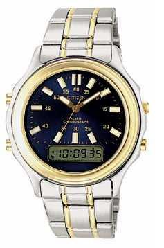 Citizen Watch Bracelet Two Tone Stainless Steel Part # 59-74180