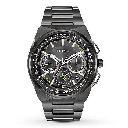 Citizen Watch Bracelet Black Ion Plated Super Titanium Part # 59-T01049