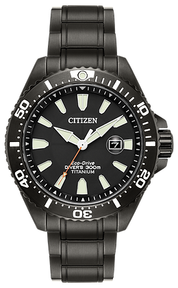 Citizen Watch Bracelet Black Tone Titanium Part # 59-S06793
