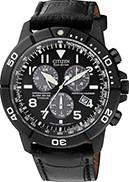 Citizen Watch Strap Black Leather Part # 59-S53087