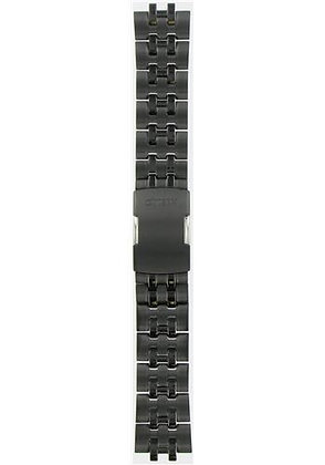 Citizen Watch Bracelet Black Ion Plated Stainless Steel  Part # 59-S03393