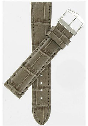 Citizen Watch Band  Gray Leather 20MM Part # 59-S50683