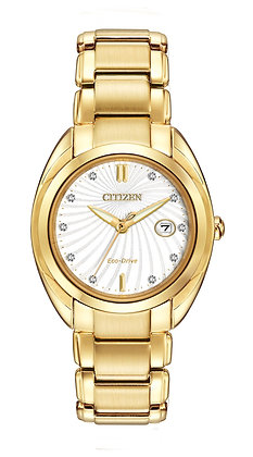 Citizen Watch Bracelet Gold Tone Stainless Steel Part # 59-S05804