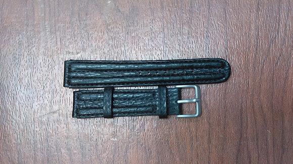 Citizen Watch Band Black Shark Leather 20MM Part # 59-L3246
