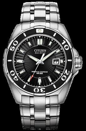 Citizen Watch Bracelet Silver Tone Stainless Steel Part #59-S04483