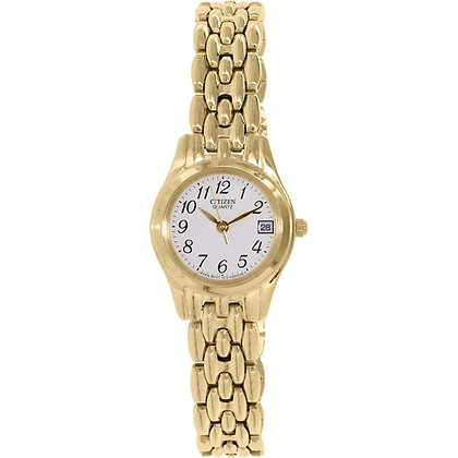 Citizen Watch Bracelet Gold Tone Stainless Steel Part # 59-S03985