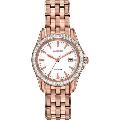 Citizen Watch Bracelet Rose Gold Tone Stainless Steel Part # 59-S05892