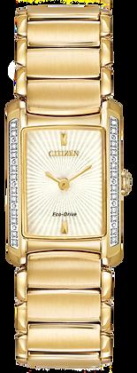 Citizen Watch Bracelet Gold Tone Stainless Steel Part # 59-S05777