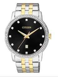 Citizen Watch bracelet Two Tone Stainless Steel Part # 59-S06418