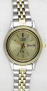 Citizen Watch Bracelet Two Tone Stainless Steel Part # 59-S05174
