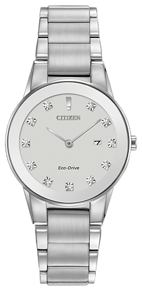 Citizen Watch Bracelet Silver Tone Stainless Steel Part # 59-S05343
