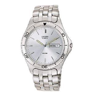 Citizen Watch Bracelet Silver Tone Stainless Steel Part # 59-K0391