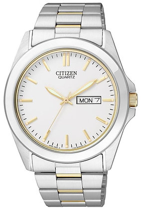 Citizen Watch Bracelet  Two Tone Stainless Steel Part # 59-S04151