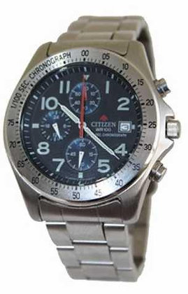 Citizen Watch Bracelet Silver Tone Stainless Steel Part # 59-H0162