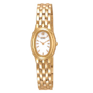 Citizen Watch Bracelet Gold Tone Stainless Steel Part # 59-H1135