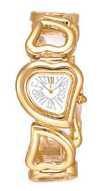 Citizen Watch Bracelet Gold Tone Stainless Steel Part # 59-H0681