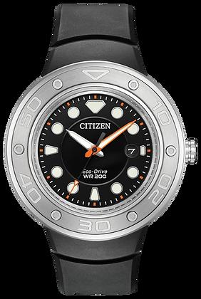 Citizen Watch Strap Black Polyurethane Part # 59-S53493