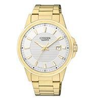 Citizen Watch Bracelet Gold Tone Stainless Steel Part # 59-BI1012-55A