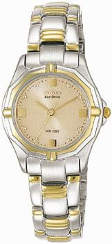 Citizen Watch Bracelet Two Tone Stainless Steel Part # 59-H0786