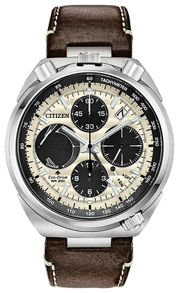 Citizen Watch Strap Brown Leather Part # 59-S53997