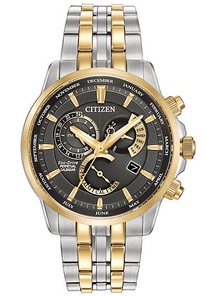 Citizen Watch Bracelet Two Tone Stainless Steel Part # 59-S06566