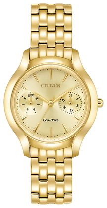 Citizen Watch Bracelet Gold Tone Stainless Steel Part # 59-R00442