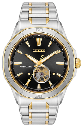 Citizen Watch Bracelet Two Tone Stainless Steel Part # 59-S06949