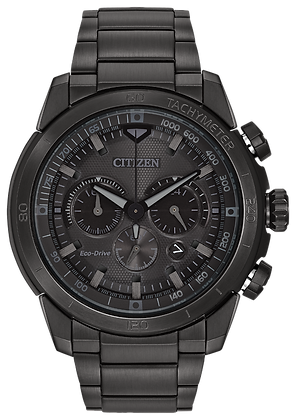 Citizen Watch Bracelet Black Ion-Plated Stainless Steel Part # 59-S05882