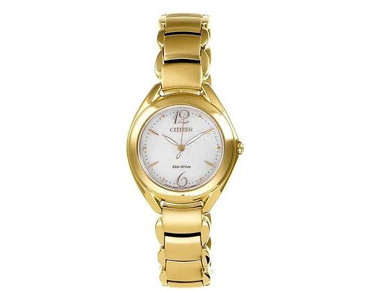 Citizen Watch Bracelet Gold Tone Stainless Steel Part # 59-S06237