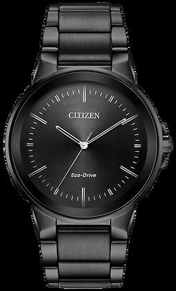 Citizen Watch Bracelet Black Tone Stainless Steel Part # 59-R00532