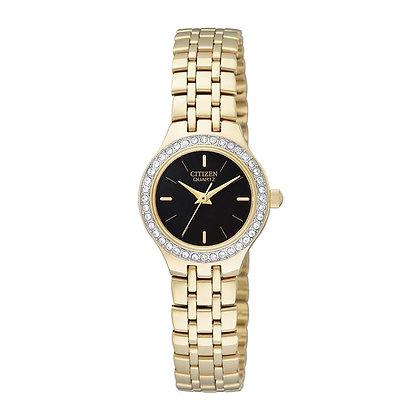 Citizen watch Bracelet Gold Tone Stainless Steel Part # 59-S04185