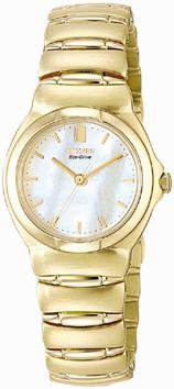 Citizen Watch Bracelet Gold Tone Stainless Steel Part # 59-H0813