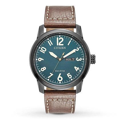 Citizen Watch Strap Brown Leather Part # 59-R50237