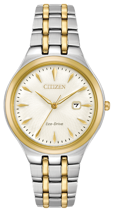 Citizen Watch Bracelet Two Tone Stainless Steel Part # 59-R00499