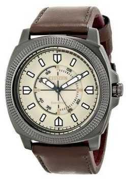Citizen Watch Strap Brown Leather Part # 59-S53008