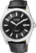 Citizen Watch Band Black Leather 22MM Part # 59-S52213