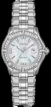 Citizen Watch Bracelet Silver Tone Stainless Steel Part # 59-S06626