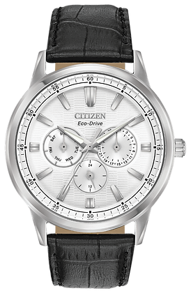 Citizen Watch Strap Black Leather Part # 59-R50308