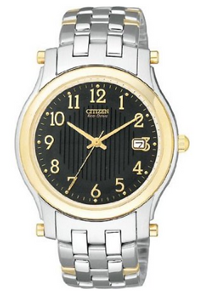 Citizen Watch Bracelet Two Tone Stainless Steel Part # 59-S02427
