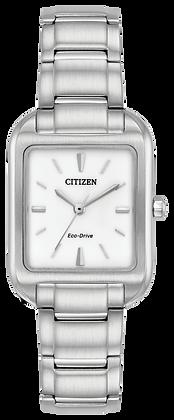 Citizen Watch Bracelet Silver Tone Stainless Steel Part # 59-S06820