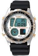 Citizen Watch Strap Black Rubber 20 X 23 MM Part # 59-L7055