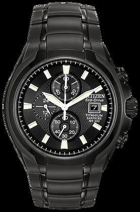 Citizen Watch Bracelet Black Ion Plated Titanium Part # 59-S04773