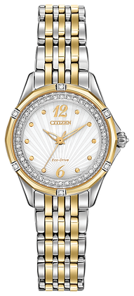 Citizen Watch Bracelet Two Tone Stainless Steel Signature Part # 59-S06219