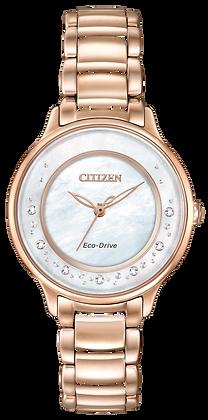 Citizen Watch Bracelet Gold Tone Stainless Steel Part # 59-S06244